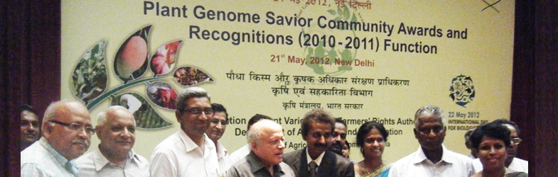 PLANT GENOME SAVIOUR COMMUNITY AWARD