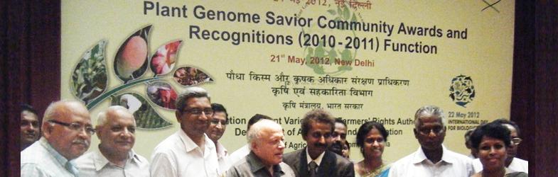 PLANT GENOME SAVIOUR COMMUNITY AWARD